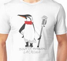 Bowtie Penguin Lacrosse Unisex T-Shirt