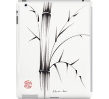 'Simplicity' paper & brush ink pen hand drawing iPad Case/Skin