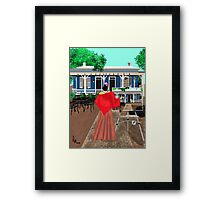 "A Tasteful ""Palate"" Framed Print"