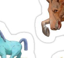 The Dressage Pony Sticker