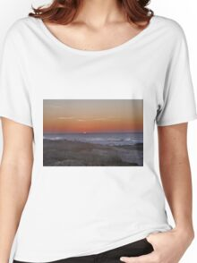 Sunset at Pacific Grove Women's Relaxed Fit T-Shirt