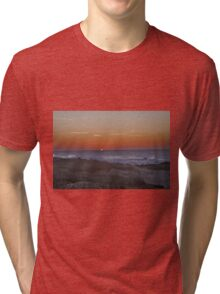 Sunset at Pacific Grove Tri-blend T-Shirt