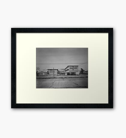 Knoll's Motel - Wildwood, New Jersey Framed Print