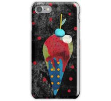 Winter Dessert Cold Feelings iPhone Case/Skin