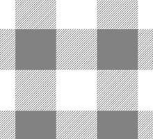 Checkered Gingham Pattern - Gray White  by sitnica