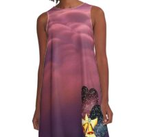Hearts In Love A-Line Dress