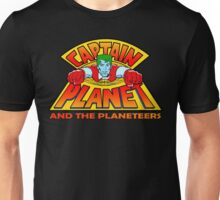 CAPTAIN PLANET AND THE PLANETEERS RETRO CLASSIC CARTOON  Unisex T-Shirt