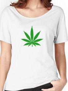 Marijuana Leaf Women's Relaxed Fit T-Shirt
