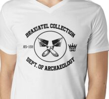 The Braxiatel Collection: Dept. of Archaeology  Mens V-Neck T-Shirt