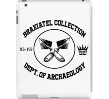 The Braxiatel Collection: Dept. of Archaeology  iPad Case/Skin