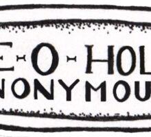 Axe-O-Holics Axe Stamp  Sticker