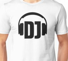 DJ headphones Unisex T-Shirt