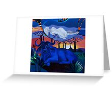 """Night Dreams"" Greeting Card"