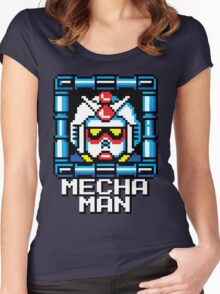 Mecha Man Women's Fitted Scoop T-Shirt