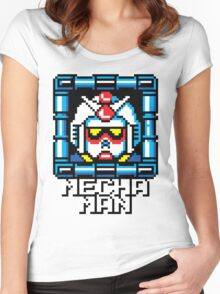 Mecha Man Women's Fitted Scoop T-Shirt