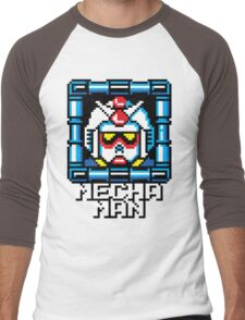 Mecha Man Men's Baseball ¾ T-Shirt