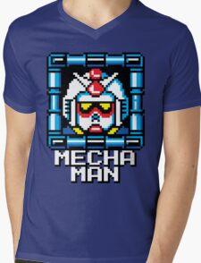 Mecha Man Mens V-Neck T-Shirt