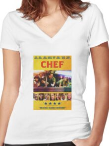 Chef Women's Fitted V-Neck T-Shirt