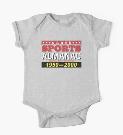 Biff's Almanac - Back to the Future One Piece - Short Sleeve