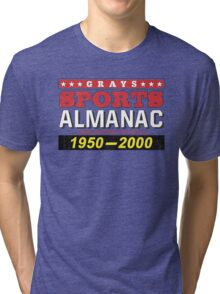Biff's Almanac - Back to the Future Tri-blend T-Shirt