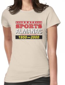 Biff's Almanac - Back to the Future Womens Fitted T-Shirt