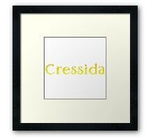 Cressida Framed Print