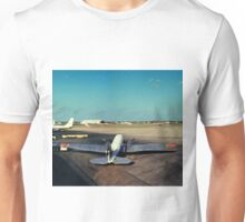 DC-3 at Love Field Dallas 1962 Unisex T-Shirt