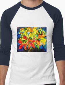 lilies best Men's Baseball ¾ T-Shirt