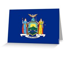 New York State Flag Greeting Card