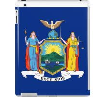 New York State Flag iPad Case/Skin