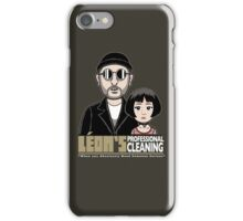 LEON's Professional Cleaning iPhone Case/Skin