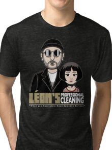 LEON's Professional Cleaning Tri-blend T-Shirt