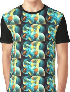 Aqua Coral Graphic T-Shirt