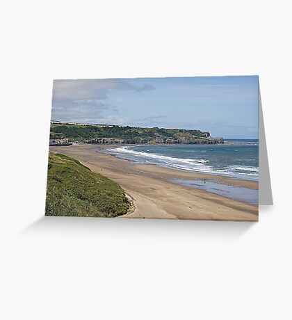 Sandsend. Greeting Card