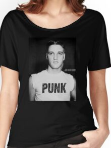 Elvis is a Punk Women's Relaxed Fit T-Shirt