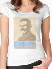 Alan Turing  Women's Fitted Scoop T-Shirt