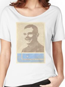 Alan Turing  Women's Relaxed Fit T-Shirt