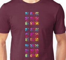 Crystalline Plaid Unisex T-Shirt