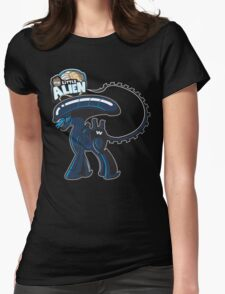 My Little Alien Womens Fitted T-Shirt