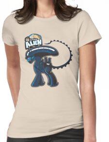My Little Alien Womens Fitted T-Shirt