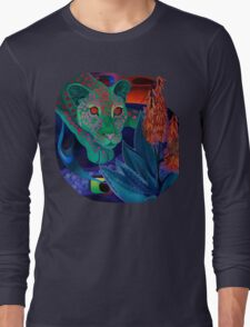 """Night Whispers""(Original is in private collection) Long Sleeve T-Shirt"