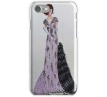 1920s Glam Fashion Illustration iPhone Case/Skin