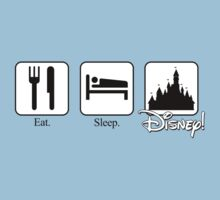 Eat. Sleep. Disney! Kids Clothes