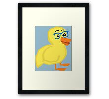 Geek Duckling Framed Print