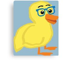 Geek Duckling Canvas Print