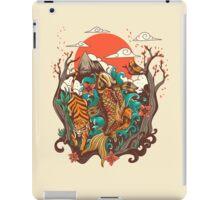 autumn sunset iPad Case/Skin