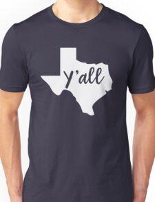 Y'all Texas T-Shirt