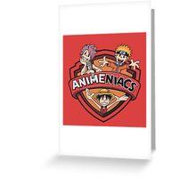 Animeniacs 5 Greeting Card