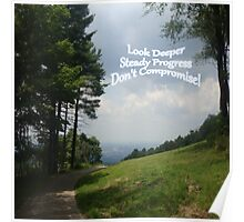 LSD - Look Deeper, Steady Progress, Don't Compromise Poster