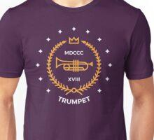 Trumpet - Gold & White Unisex T-Shirt